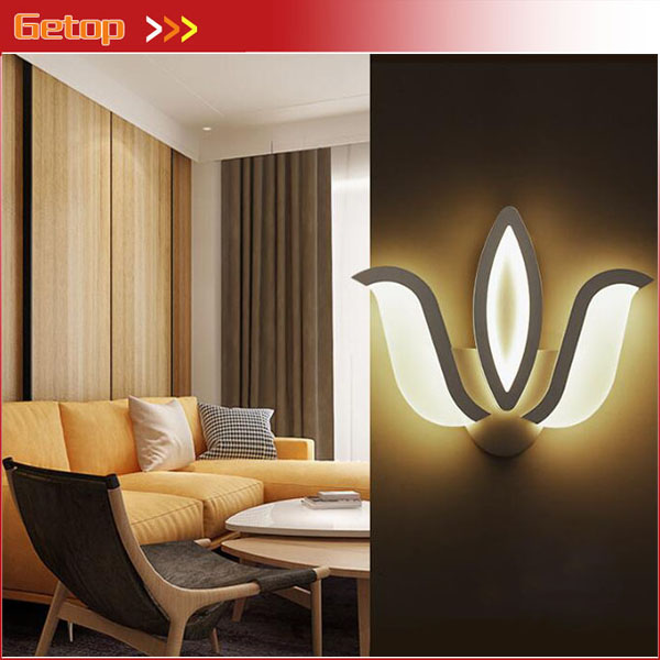 Modern Fashion LED Wall Lamp Bedside Living Room Corridor Restaurant Bedroom Balcony Aisle Stairs Creative Wall Lamp Acryl цена и фото