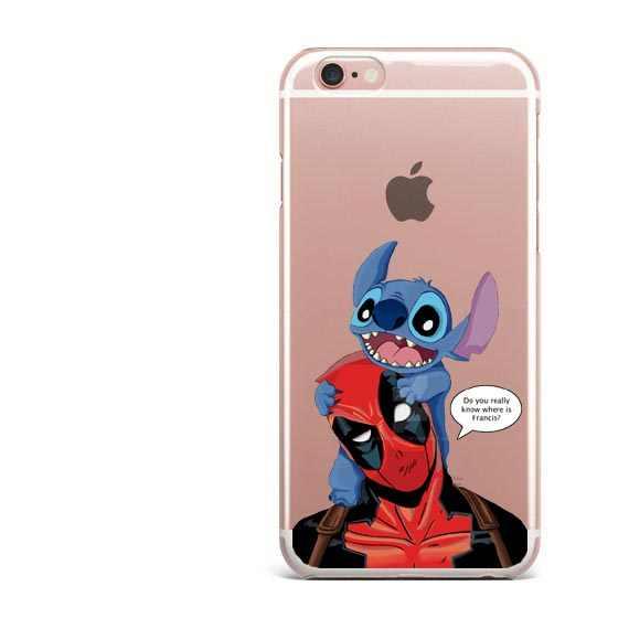 ホット販売デッドプールとハーレークインスーパークール驚異ヒーローソフトクリア電話ケース iphone 6 6s プラス 5 5 s SE 8 8 プラス 7 7 プラス