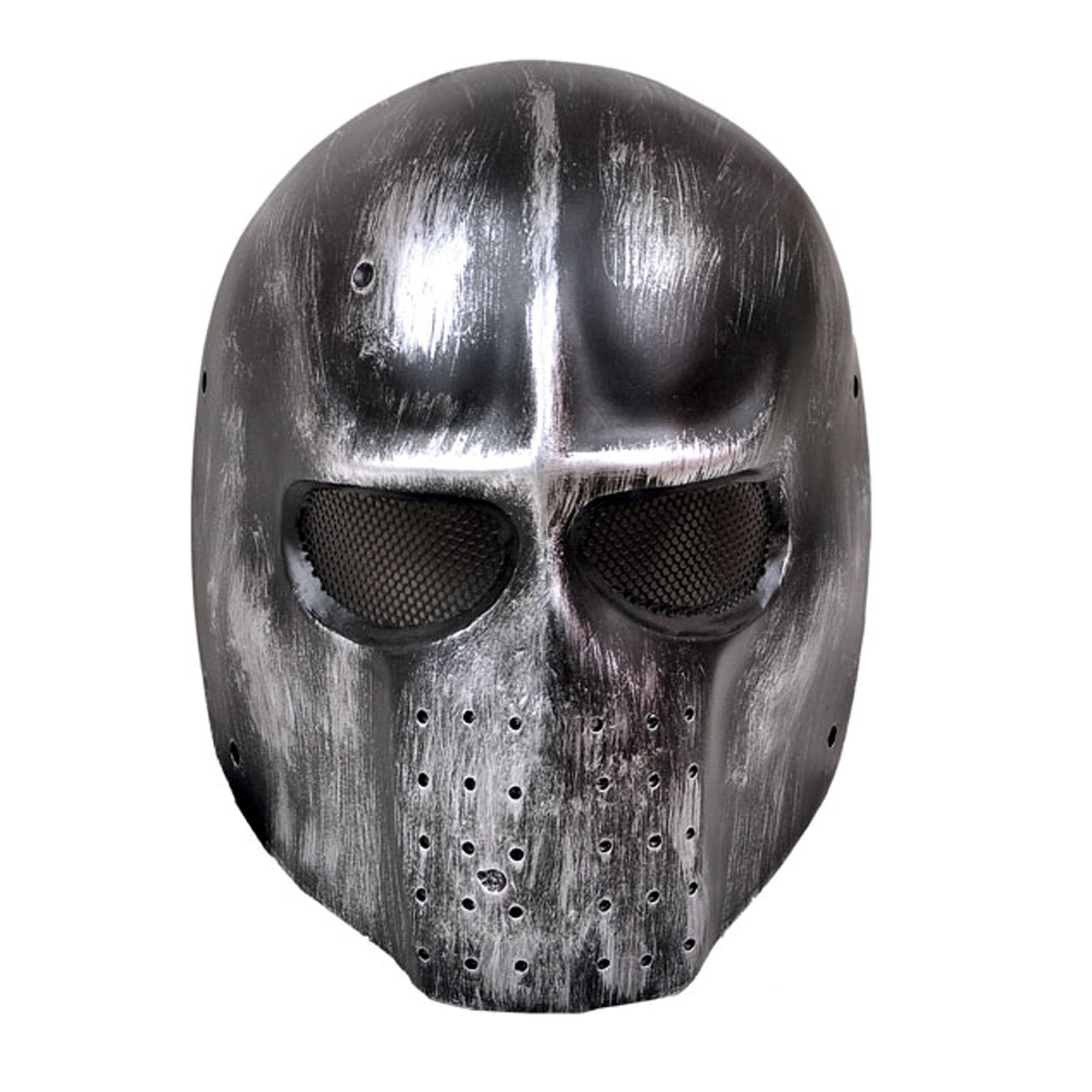 Ghost Glass Fiber Tactical Hunting Masks Outdoor Military Scary CS ...