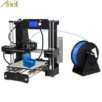 2016 Updated Anet A6 Size220 220 250mm3D Printer Kit Reprap Prusa I3 DIY 3Roll Filament 16GB