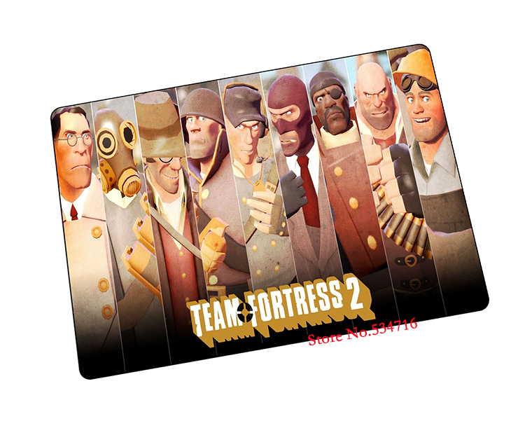 team fortress 2 mouse pad gear Christmas gift game pad to mouse notebook computer mouse mat brand gaming mousepad gamer laptop