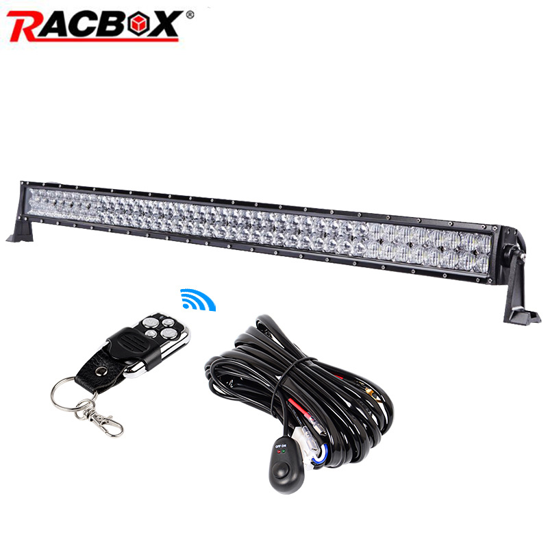 5D 240W 42 inch Offroad LED Work Light Bar Spot Flood Combo Beam For JEEP 4x4 ATV SUV MPV UAZ Off-road Truck Automobile 12V 24V 24 120w cree off road led work light bar flood spot combo beam 3w led 9000 lumen great for jeep cabin boat suv truck car atv