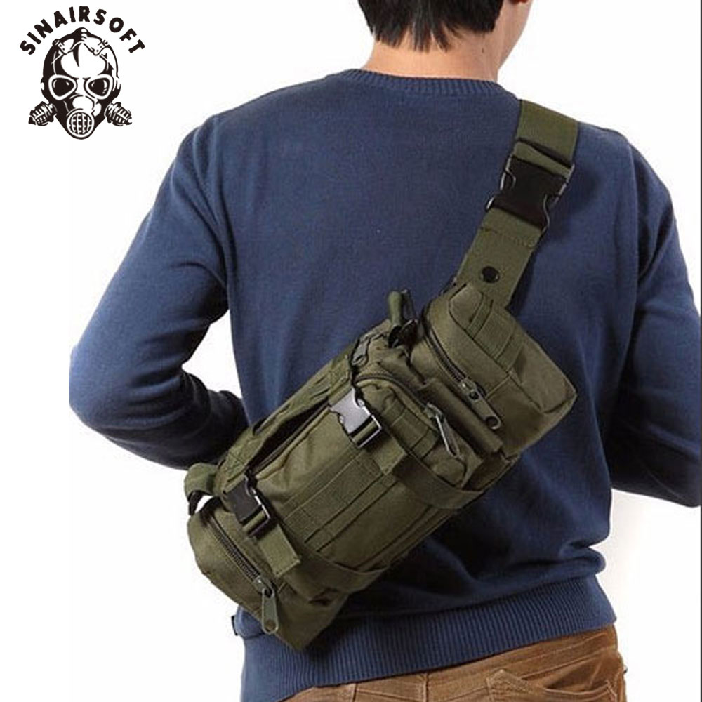 SINAIRSOFT High Quality Outdoor Military Tactical Backpack Waist Pack Waist Bag