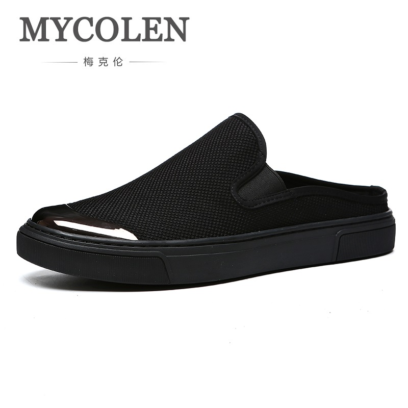 MYCOLEN New High Top Winter Casual Men Shoes Lace-up Breathable Men Shoes Genuine Leather Black Flat Shoes Zapatillas Hombre klywoo new white fasion shoes men casual shoes spring men driving shoes leather breathable comfortable lace up zapatos hombre