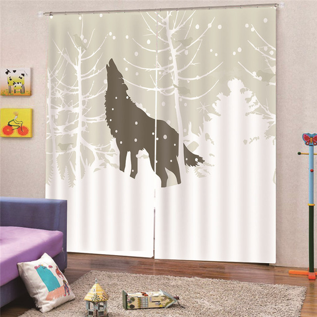 Digital Print Wooden Door Blackout