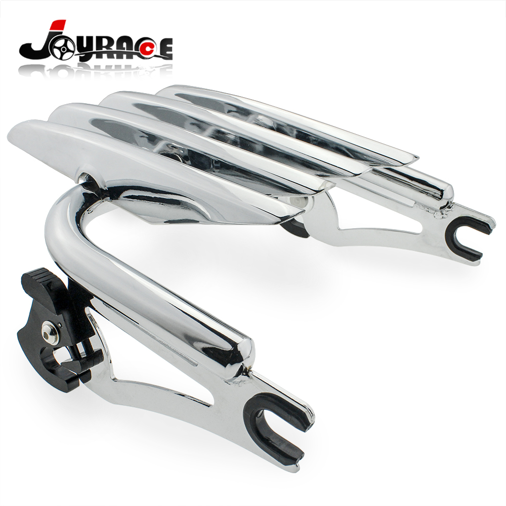 Motorcycle Detachable Luggage Rack for Harley Touring Road Street Glide Road King Electra Glide 09-16 motorcycle gear shifter shift linkage for harley touring softail fatboy bad boy road king electra glide 1984 2017 mbj055 c