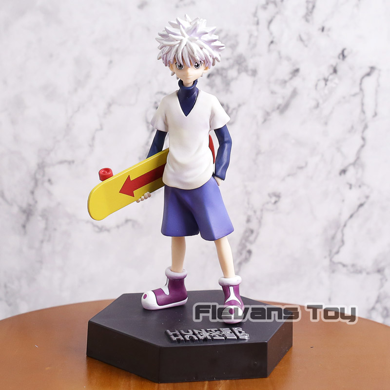 Anime Hunter X Hunter Gon Freecss / Killua Zaoldyeck PVC Figure Collectible Model Toy gon volume 3