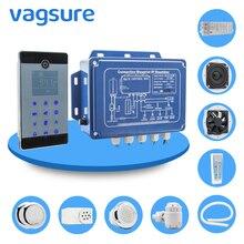 IPX5 Водонепроницаемый настенный стиль bluetooth влажная парная сауна спа ванна Генератор 110 кВт 240 В/в с душевым контроллером