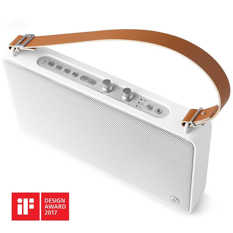 GGMM E5 Falante Sem Fio Bluetooth Wi-Fi DLNA HiFi Caixa de Som Speaker Portátil Bluetooth Altavoz Coluna Ao Ar Livre Alto-falantes de Som
