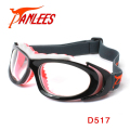 Panlees Ball Sports Dribble Aid Goggles Optical Lens Matched Soccer Football Spectacle Adults Basketball Goggles with Strap