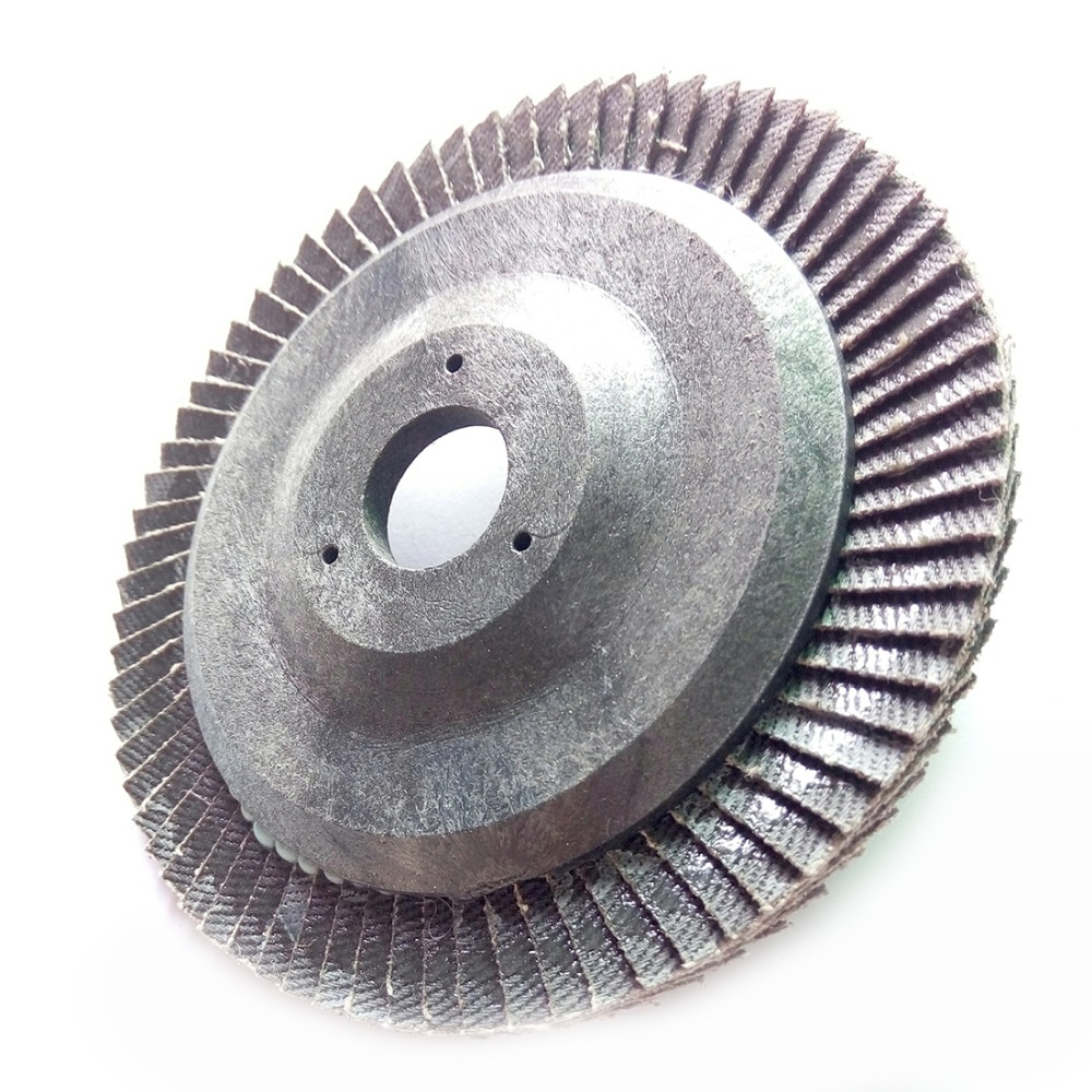 100mm Flap Sanding Grinding Wheels Impeller Sandpaper Polishing Discs Pads Wheel Dremel Angle Grinder Rotary Tool