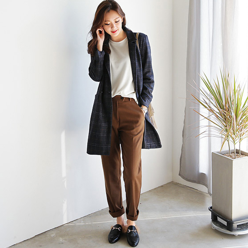Online Buy Wholesale womens brown pants from China womens brown ...