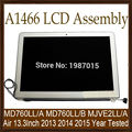 "2013 2014 2015 Year Genuine A1466 13"" LCD Complete Display Screen Assembly for Apple MacBook Air 13"" MD760LL/A MJVE2LL/A Tested"