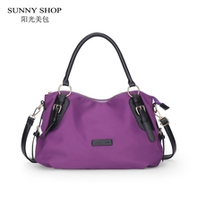 SUNNY SHOP 2017 New Waterproof OXFord Women Shoulder Bags Fashion Designer Women Bag Women Messenger Bags Handbag