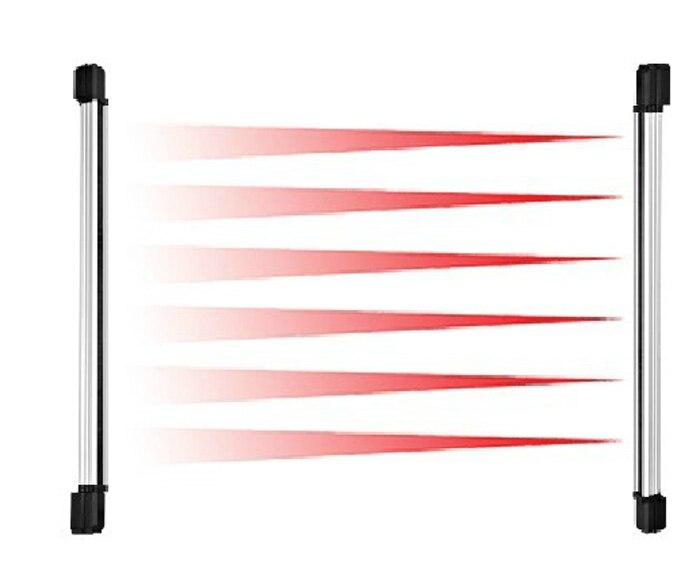 100 m alarme antivol capteur de faisceau infrarouge 3 faisceau barrière détecteur de clôture système d'alarme à la maison pour la porte de la maison fenêtre obturateur sécurité