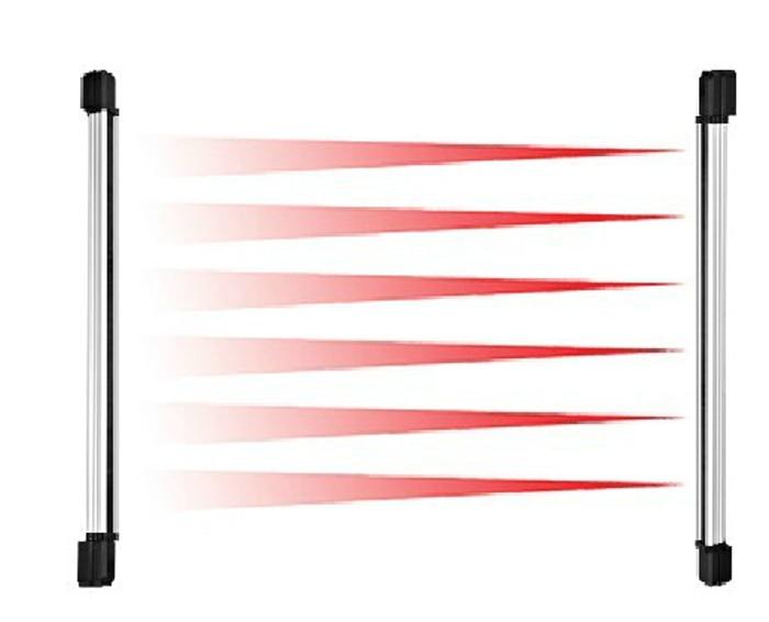 100m Burglar Alarm Infrared Beam Sensor 3 Beam Barrier Fence Detector Home Alarm System For House Door Window Shutter Security