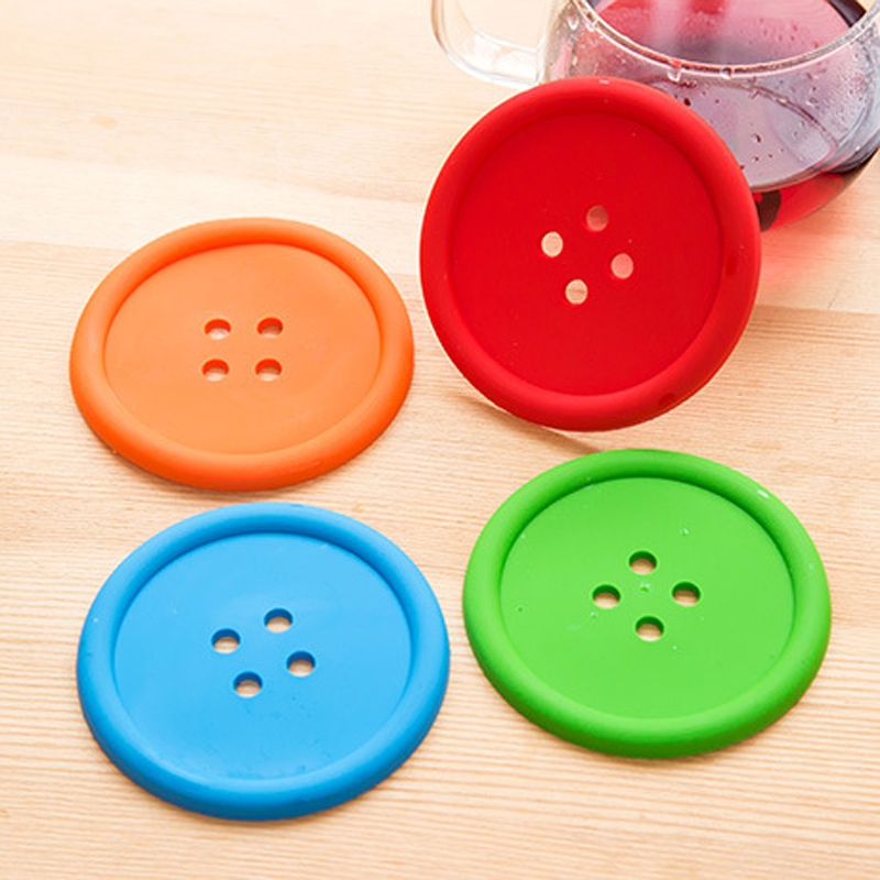 Multiple-colors-Silicone-Cup-mat-Cute-Colorful-Button-Cup-Coaster-Cup-Cushion-Holder-Drink-Cup-Placemat (3)