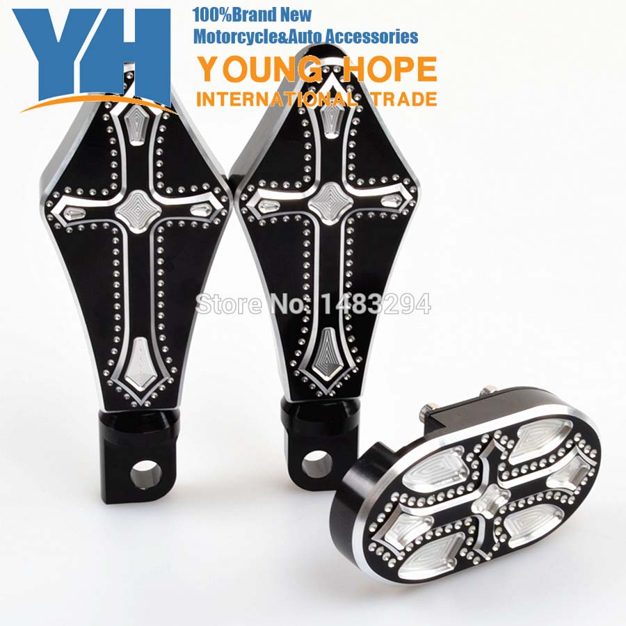 Brake Pedal Cover Pad And Driver Footrest Footpegs Fits for Harley Sportster XL 883 1200 Billet Aluminum mtsooning timing cover and 1 derby cover for harley davidson xlh 883 sportster 1986 2004 xl 883 sportster custom 1998 2008 883l