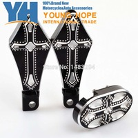 Brake Pedal Cover Pad And Driver Footrest Footpegs Fits Fits For Harley Sportster XL 883 1200