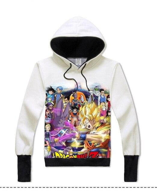 Dragon Ball Z Zip-Up Hoodie Sweatshirt