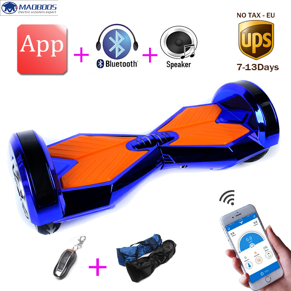 8 inch smart scooter self balancing APP Hoverboard led light electric unicycle smart electric skateboard standing hoverboard tax free hoverboard samsung battery smart self balancing electric scooter balance skateboard standing drift hoverboard