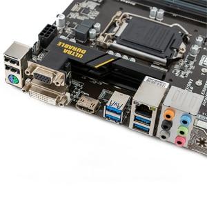Image 5 - Gigabyte GA B150M D3H B150M D3H B150 Desktop Motherboard LGA 1151 Core i7 i5 i3 DDR4 64G SATA3 USB3.0 M.2 Micro ATX DVI VGA HDMI