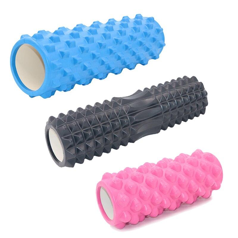 Massage Roller Yoga Block Yoga Column Foam Yoga Pilates Fitness Foam Roller Sports Train Gym Exercise Relax Foam Sport Tool