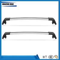 High Quality 2 PCS Car Accessories Aluminium Alloy Roof Rack Rails Cross Bar Fit For RANGE ROVER 2006-2009 Luggage Carrier
