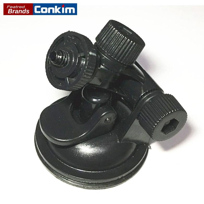 Conkim Driving recorder ventana succionadora con tornillo Titular GPS DVR grabador mini montaje Soportes para automóvil Soporte para DVR