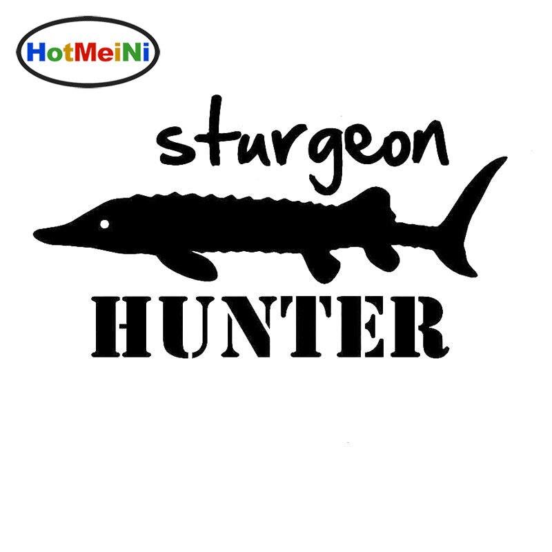 sturgeon fishing decal