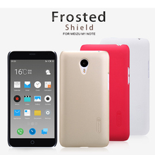 Cover For Meizu M1 Note Case Nillkin Super Frosted Shield Hard Phone Cases For Meizu M1 Note Back Cover With Screen Protector цена и фото