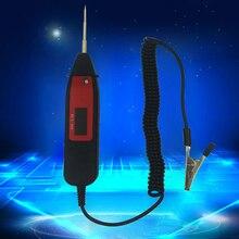 ユニバーサル自動車デジタル電圧ランプテスター車回路電圧トラッカーテストツール lcd ディスプレイ