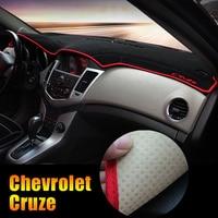For Chevrolet Cruze 2009 2014 2015 2016 2017 2018 LHD Car Dashboard Pad Instrument Platform Desk Avoid Light Mats Cover Sticker