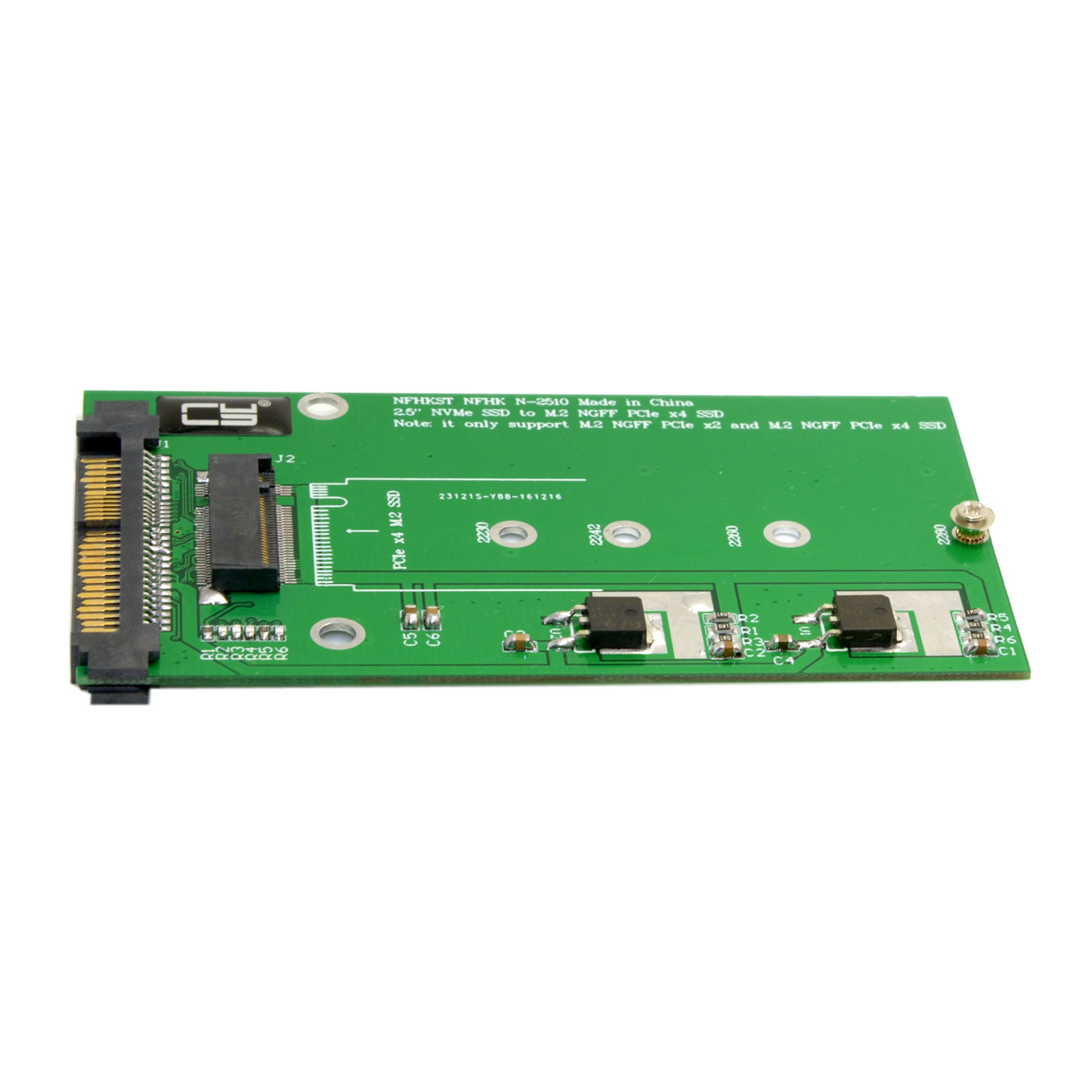 Chenyang SFF-8639 NVME U.2 To NGFF M.2 M-key PCIe SSD Adapter For Mainboard Replace Intel SSD 750 P3700 P3600