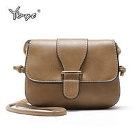 YBYT Brand 2018 Vintage Casual Women Satchels PU Leather Saddle Bag Ladies Party Purse Shoulder Female