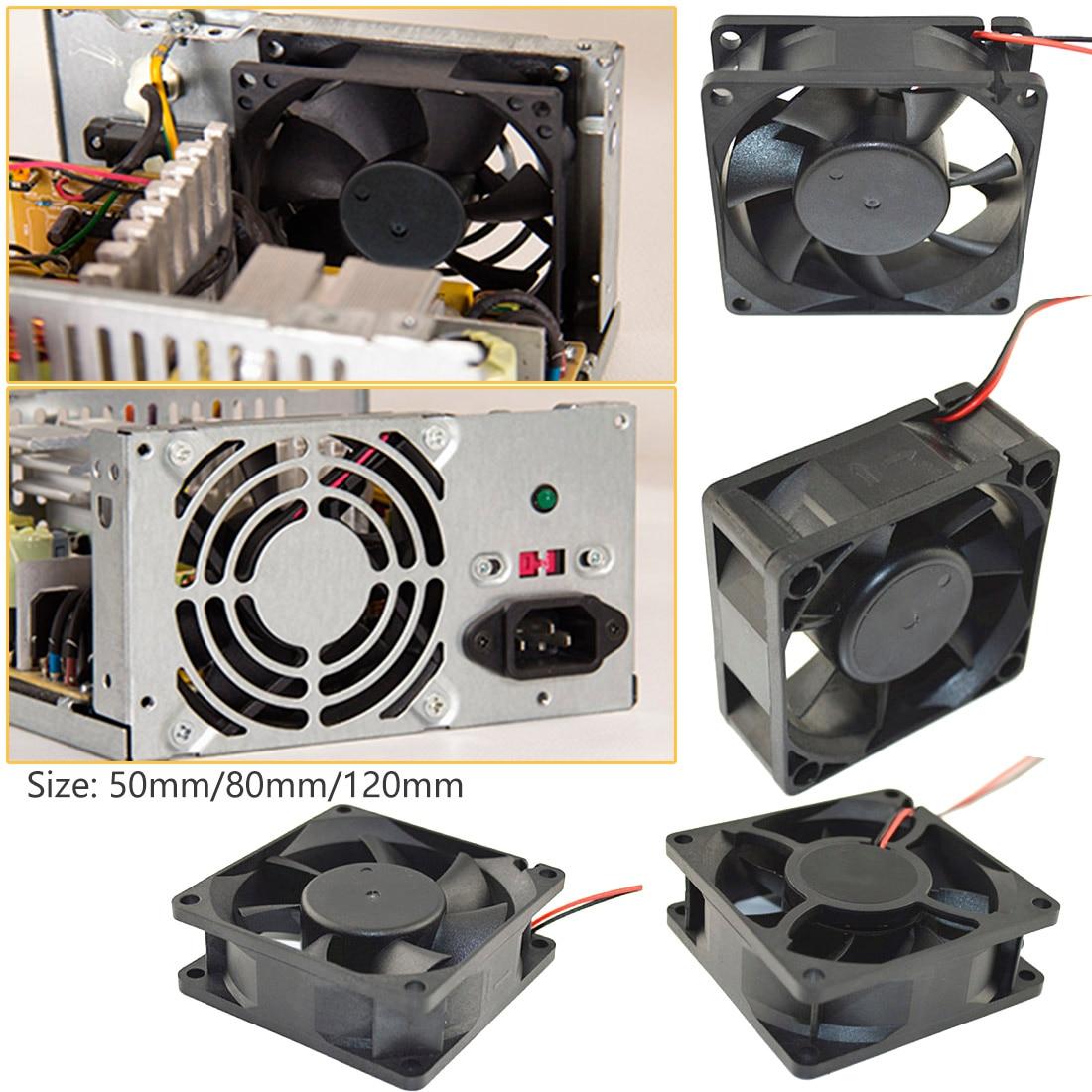Rarido 1PC 120x120x25mm DC 12V 0.15A 3 Pin 9-Blade Computer Case Cooling Fan Cooler 12025
