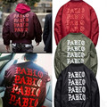 2016 Yeezus Jackets Pablo Kanye West MA1 Bomber Jackets Men Women Yeezy 3 Pablo Winter Thick Coats Bomber Men Jackets Brand