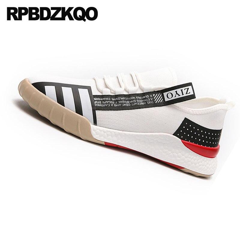 2018 Noir Blanc Sneakers Vente Up Caoutchouc blanc Mode Noir Marche Hommes Chaussures En Chaude Respirant Dernières Formateurs Designer Casual Lace PFgwq7