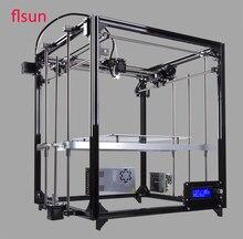 Neue Design Große Druck Größe 3d-drucker Kit Metall 3d Drucker Mit Zwei Rolls Filament Sd-karte