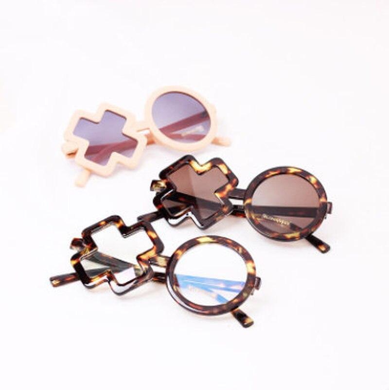 Luxury XO Irregular Steampunk Kids Sunglasses for Boys Girls Gothic Round Baby Children Sunglasses UV400 Glasses