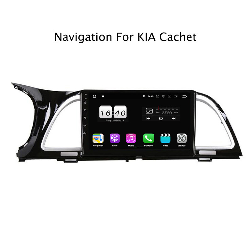 "9"" 2G RAM 16G ROM Android 8.1 Car DVD Multimedia Player For Kia Cachet K4 2017 GPS Navigation Radio Stereo Audio"