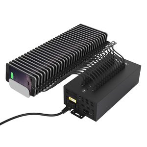 Image 3 - Centrum 30 porty USB przemysłowe USB2.0 HUB USB Splitter z 2 modele transmisji danych lub ładowarka USB, IH30P