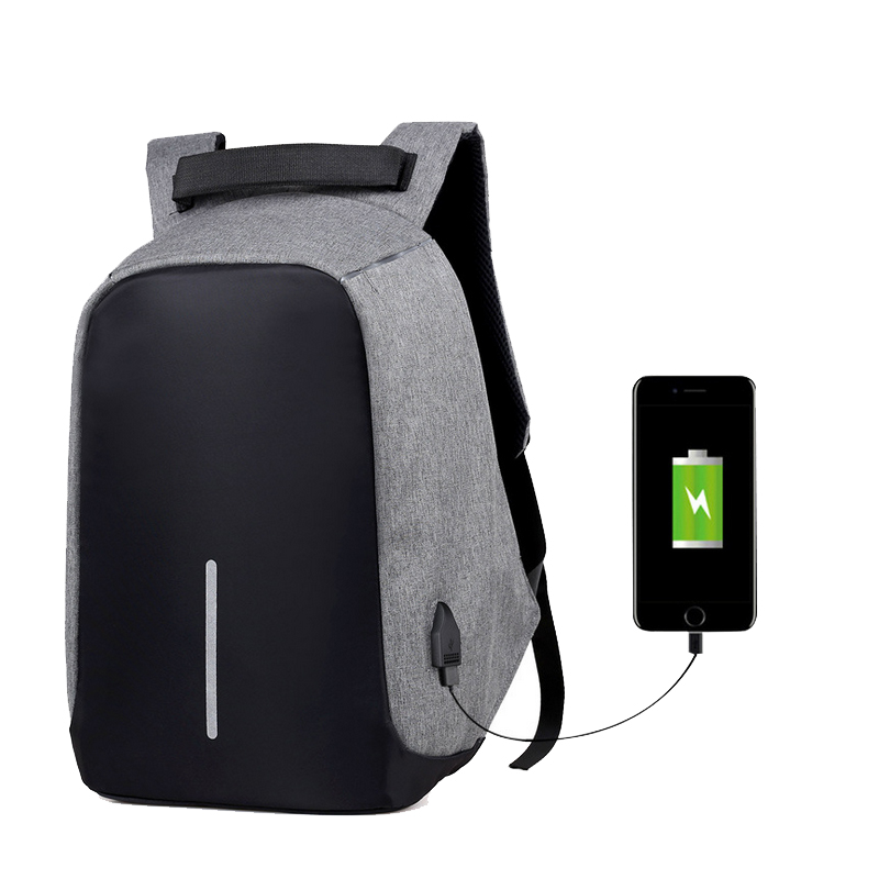 Wulekue USB Charge Backpack Computer Bag 15.6 Inch Female Laptop Bags Male Casual Anti-theft Backpacks ozuko multi functional men backpack waterproof usb charge computer backpacks 15inch laptop bag creative student school bags 2018