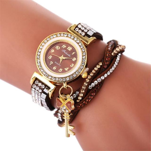 2018 Selling fashion watches Crystal watch for dropshipping Beautiful Fashion Br