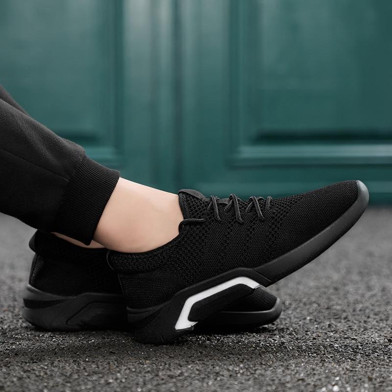 Haute Noir Printemps Confortable Homme 2018 Doux Modèle De Chaussures Net Casual Léger Nouveau Tissu bleu Et E5 Mode or Qualité T7Sq4rwTx
