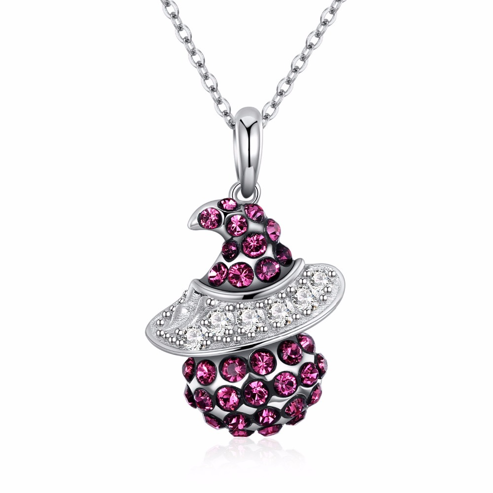 S925 Sterling Silver Crystal From Swarovsk Elements Heart Shaped Sterling Silver Necklace Heart Of The Sea Wedding Jewelry Gift from the heart