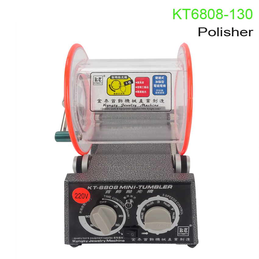 KT6808-130 polishing machine Polisher & Finisher 220/110V Polishing Finishing Machine 1pc white or green polishing paste wax polishing compounds for high lustre finishing on steels hard metals durale quality