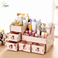 YIHONG Manufacturers seek show Seoul new large A1047 desktop wooden box cat DIY cosmetic storage box A1047c
