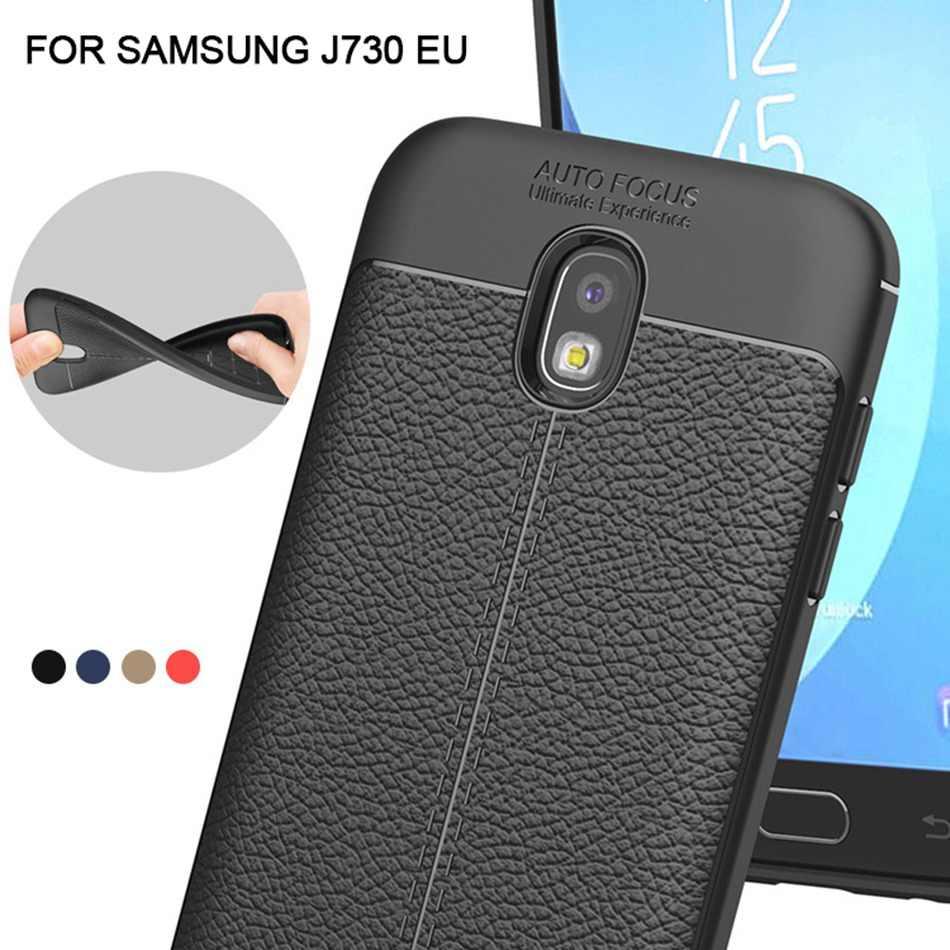 Funda Ultra delgada de lujo para Samsung J3 J5 J7 2017 funda de silicona suave de la UE para Galaxy J330 J530 J730 pro Gel de teléfono a prueba de golpes