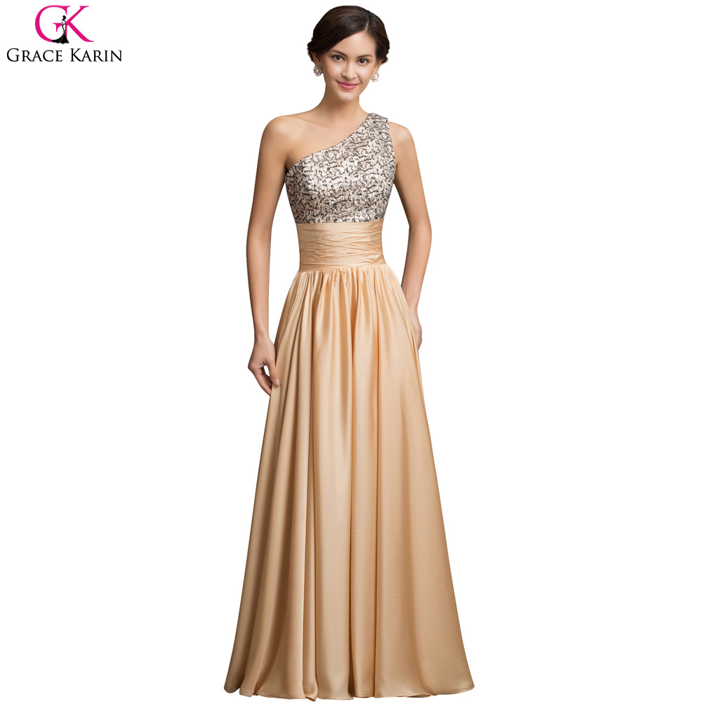 Formal Evening Gowns By Designers: Aliexpress.com : Buy One Shoulder Evening Dresses 2017